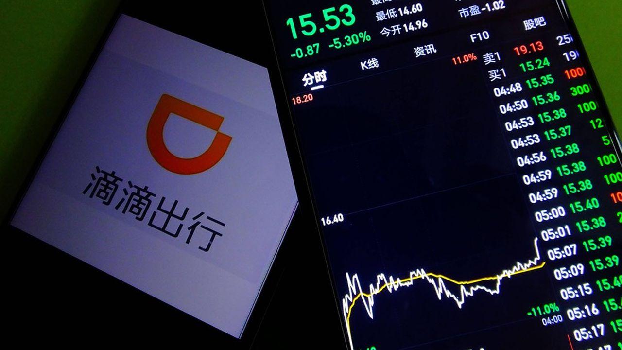L'indice Golden Dragon, constitué de sociétés chinoises ou hong-kongaises cotées sur le Nasdaq, avait plus que doublé de valeur entre la fin 2019 et mi-février 2021.