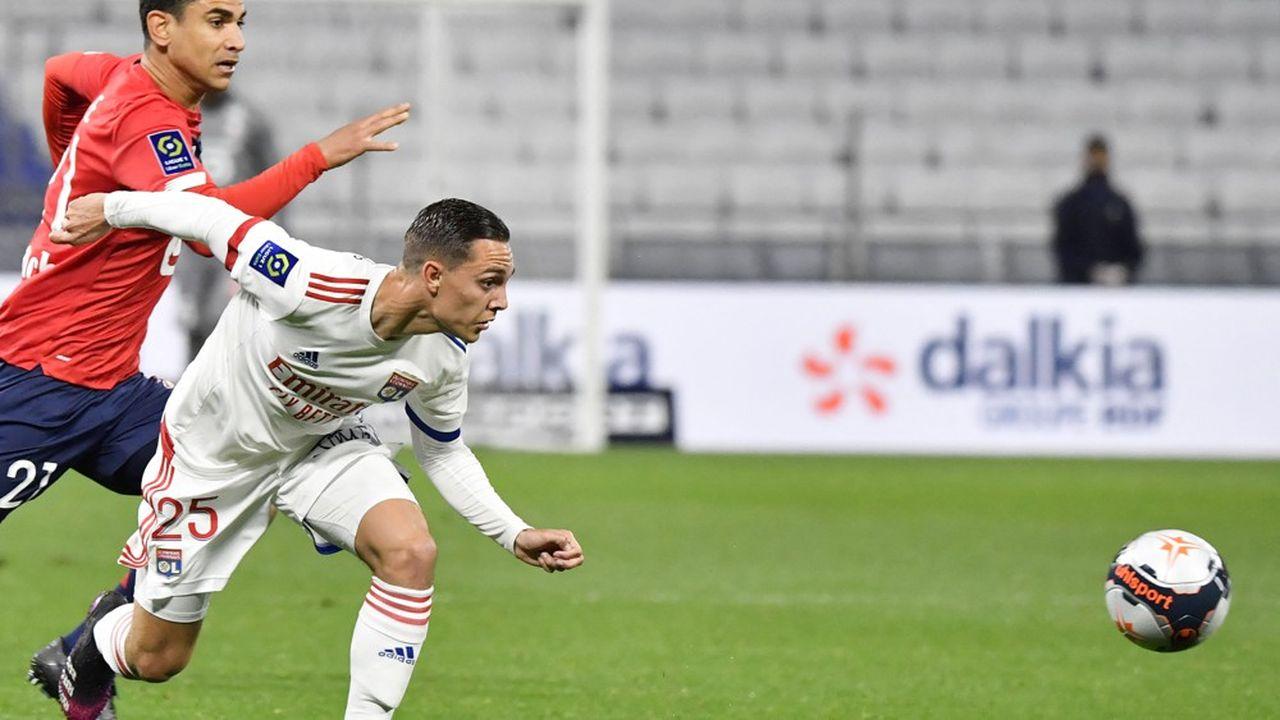 Lille-Lyon en avril dernier. Il faudra être abonné à Prime pour accéder, contre 13euros supplémentaires, à la chaîne de la Ligue1 sur Amazon Prime Video.
