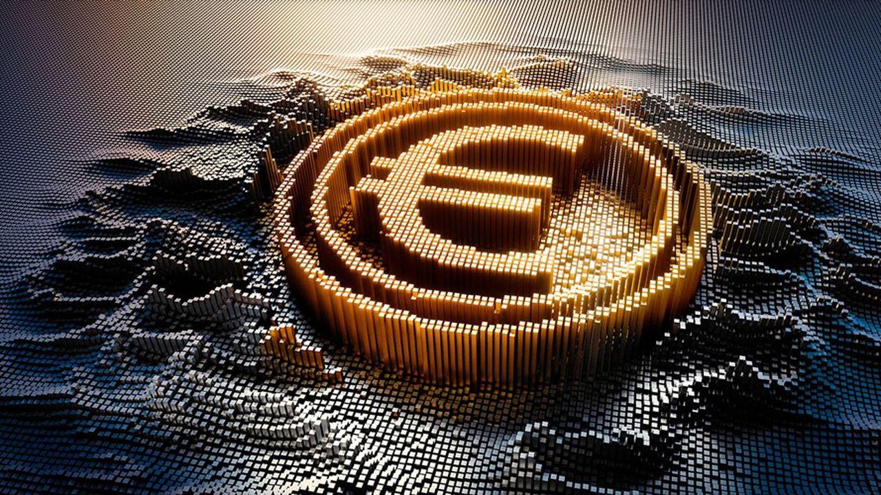 L'euro numérique pourrait être disponible dans le portefeuille des particuliers en 2025.