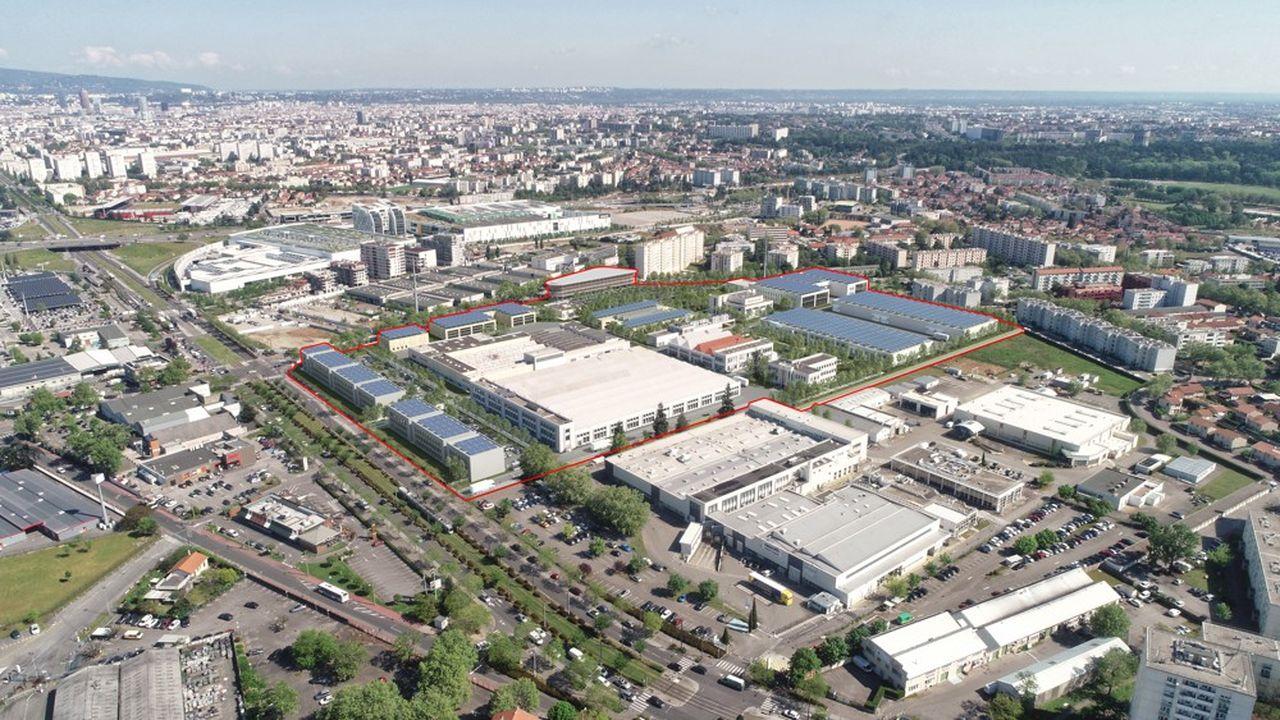 L'ancienne friche Bosch accueille déjà neuf locataires dans 30.000m2.