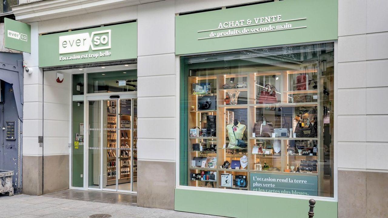 Trois boutiques Everso ont ouvert depuis le printemps.