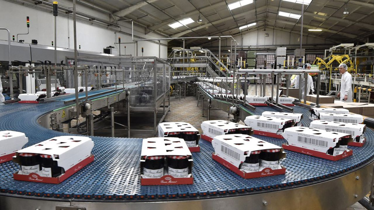 Le fabricant international de confitures, de jus de fruit et de desserts emploie 1.500 personnes dans le village de Biars-sur-Cère.