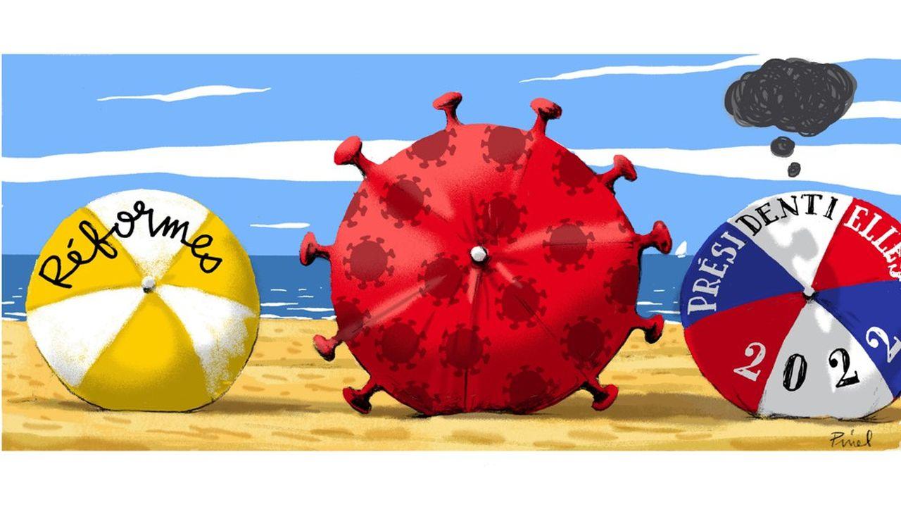 La France est loin d'en avoir fini avec l'épidémie de coronavirus, comme le montre la croissance exponentielle du variant Delta.