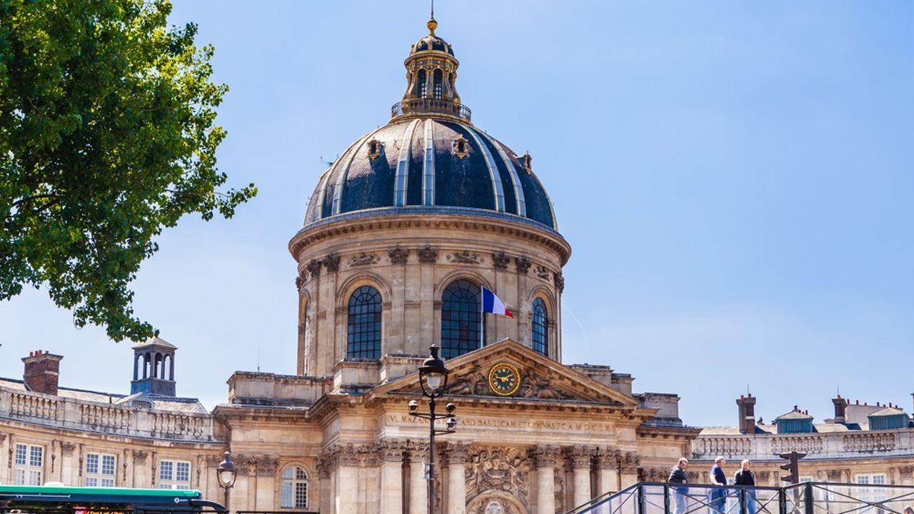 Quai Conti, le siège de l'Institut de France, a besoin de 25millions d'euros de travaux.