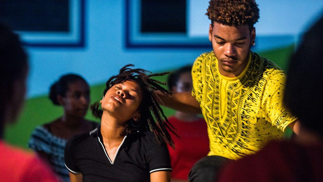 « Entropic now », spectacle de la compagnie La Zouze, au festival Jogging.
