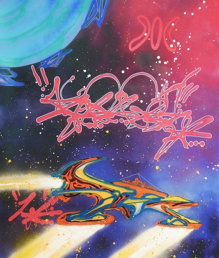 « Marco Levitation », oeuvre du graffeur new-yorkais Kool Koor.