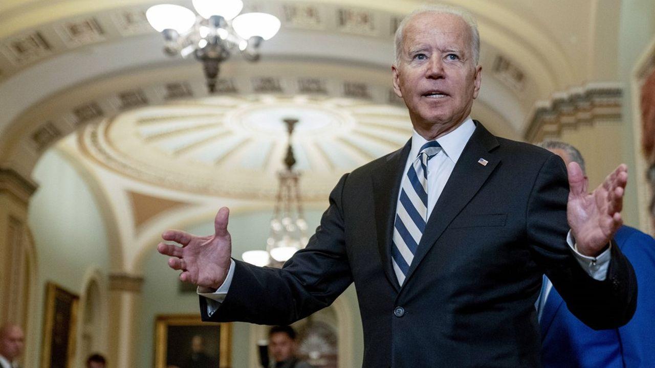 Le président des Etats-Unis Joe Biden, à Washington, le 14 juillet.