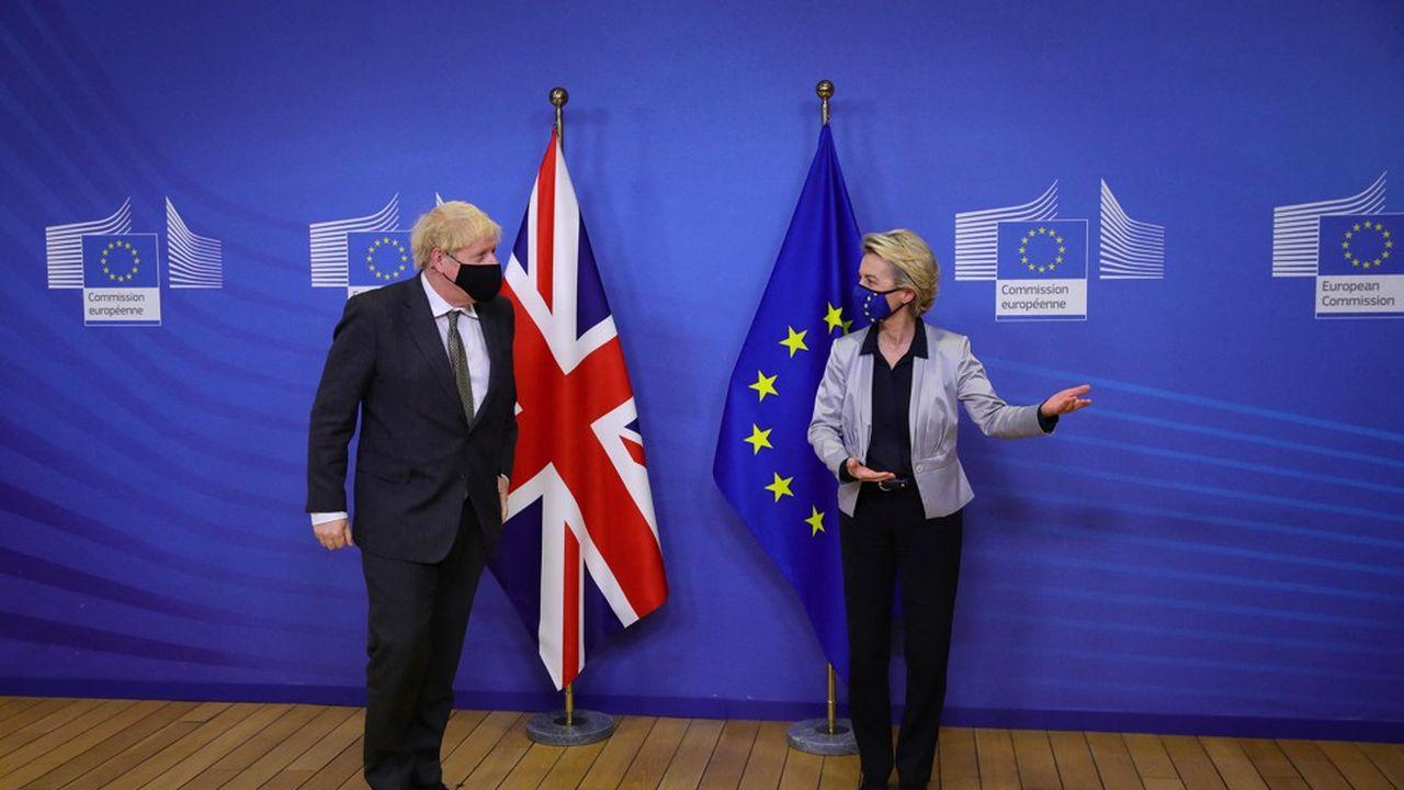 La divergence avec le chiffre de l'UE sur la facture du Brexit a pu laisser supposer un nouveau front de tensions.