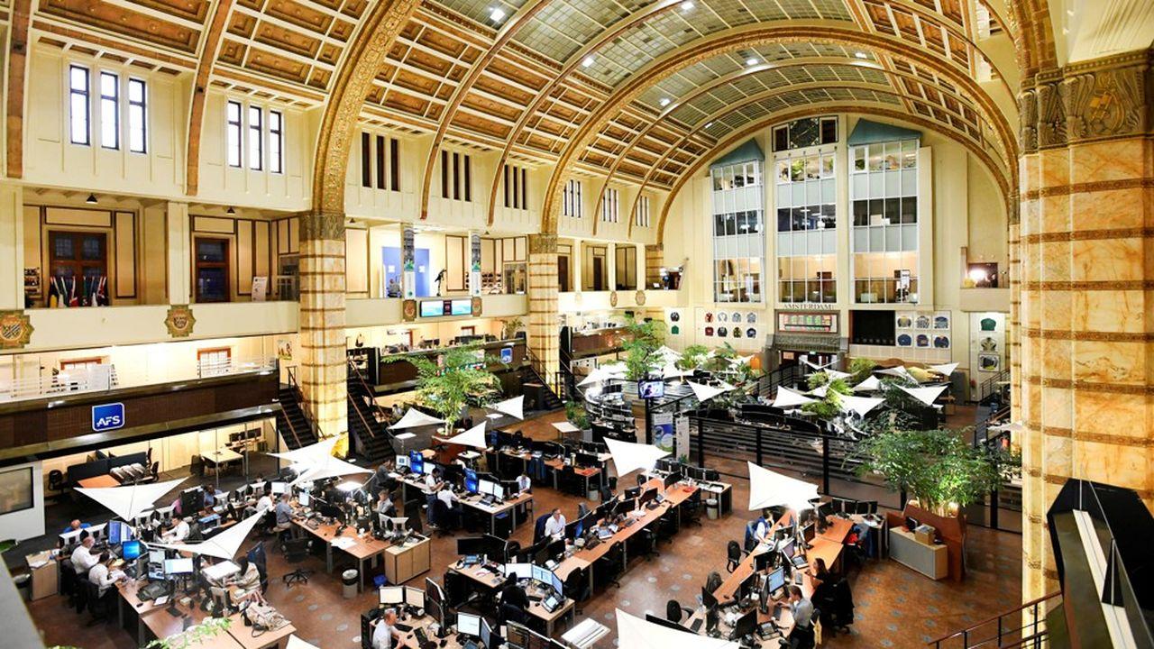 La Bourse d'Amsterdam (photo) a attiré 6 SPAC au premier semestre, contre 3 pour Londres, comme à Francfort et à Paris.