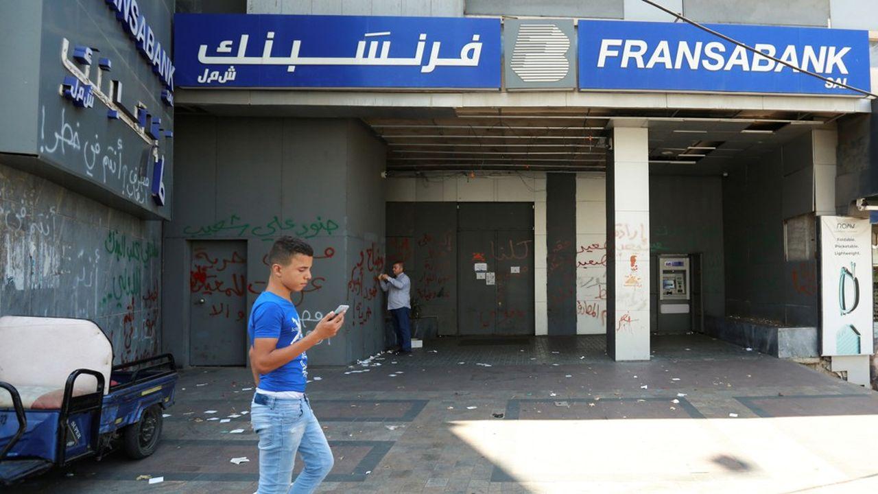 Désormais en crise, le secteur bancaire libanais a pesé jusqu'à trois fois le PIB du pays.