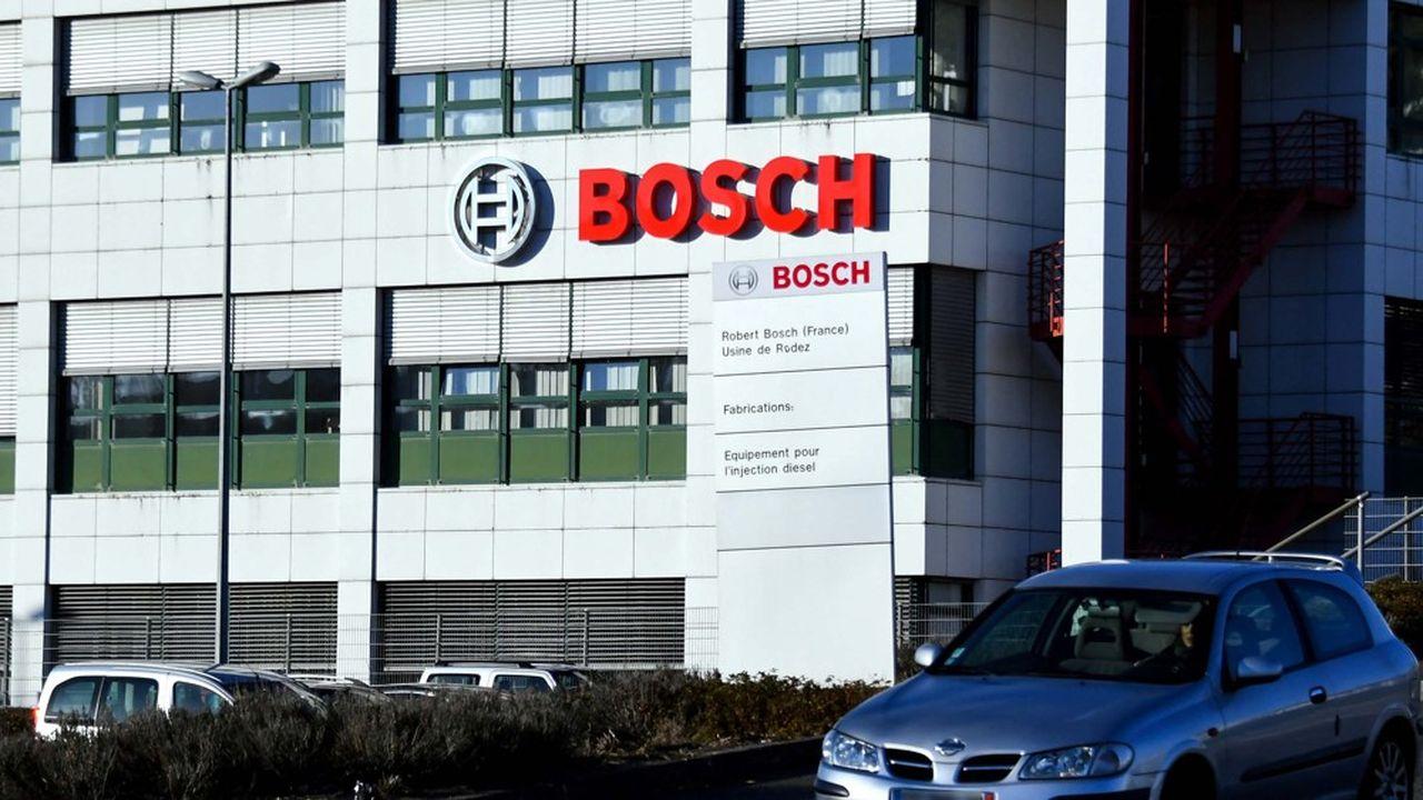 Une usine Bosch à Onet-le-Château (Aveyron).