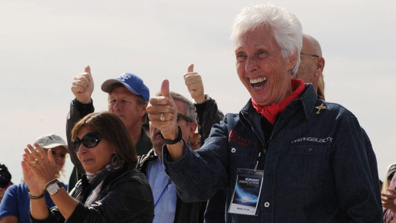 A 82 ans, Wally Funk va pouvoir réaliser son rêve de voyager dans l'espace, après 60 ans de tentatives infructueuses…