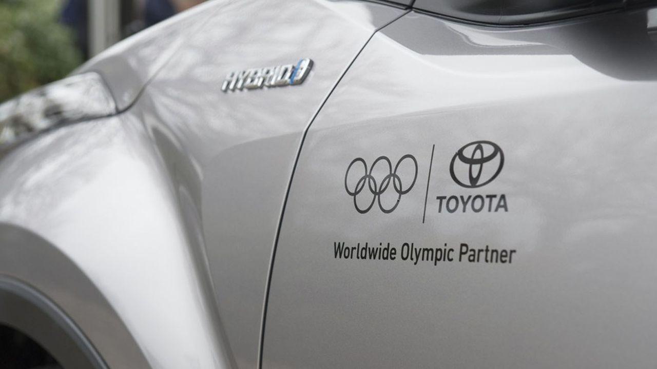 Toyota, Panasonic et Bridgestone ont contribué à hauteur de 500millions de dollars au total pour les Jeux de Tokyo.