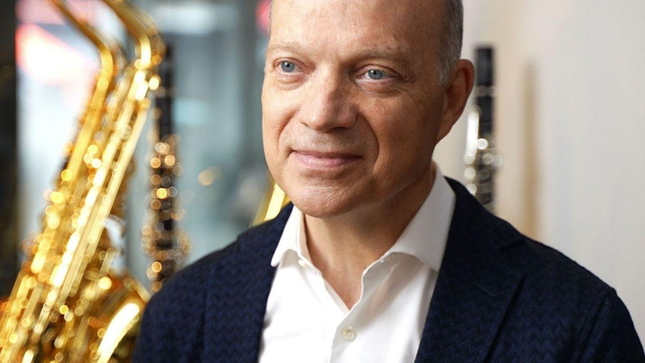 Thierry Oriez est le nouveau président du groupe Selmer Paris.