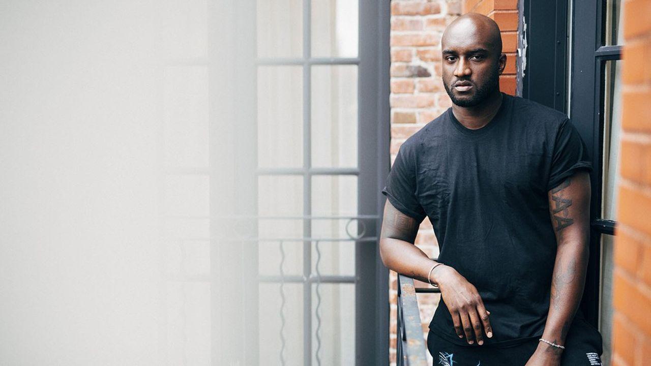 Virgil Abloh, 40 ans, est depuis 2018 le directeur artistique des collections homme de Louis Vuitton.
