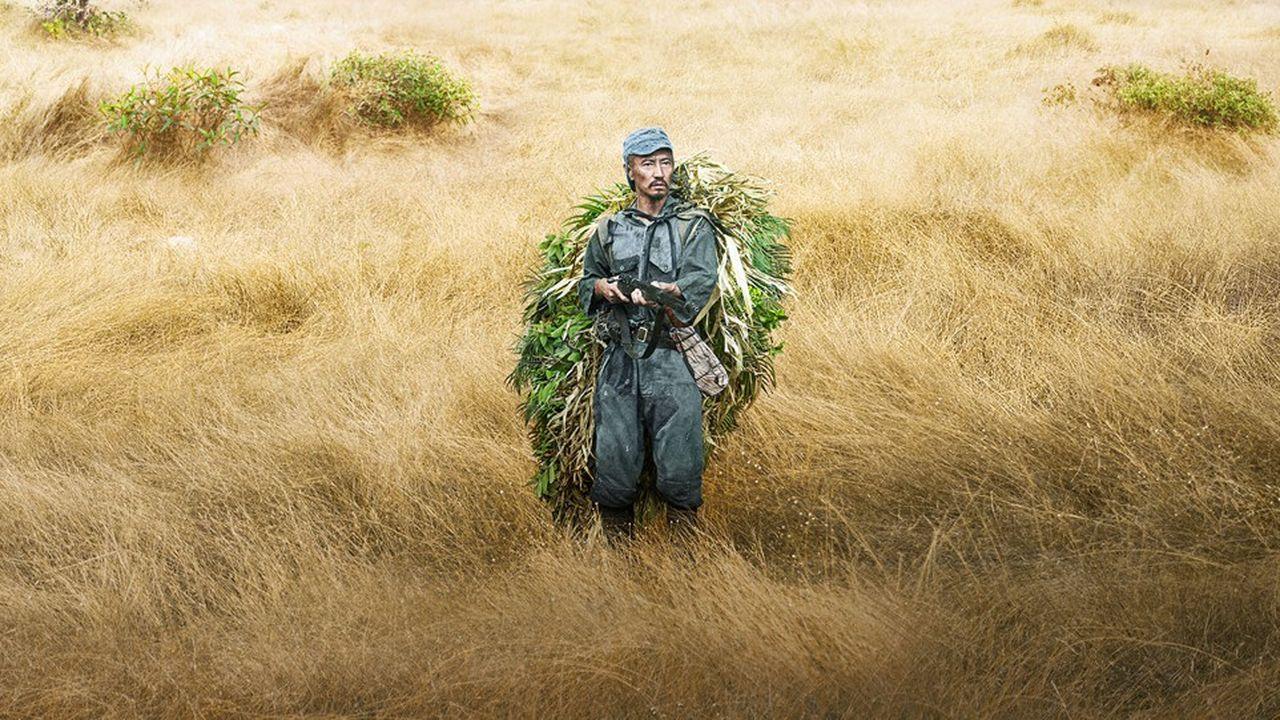 Yuya Endo dans le rôle d'Onoda, dernier soldat d'un empire perdu.