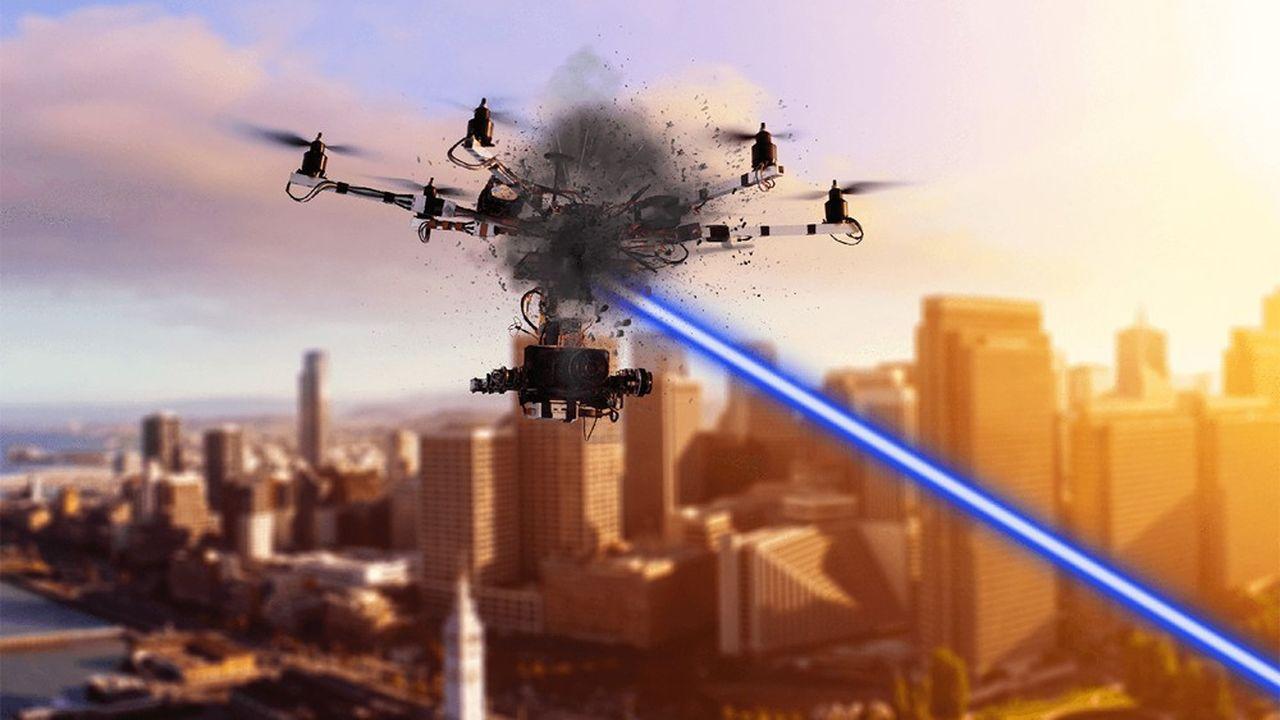 Tests de l'effecteur laser HELMA-P développé par Cilas et ArianeGroup.