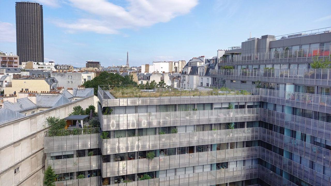 L'immeuble deCogedim et Poste Immo, dans le 14e arrondissement de Paris, est conçu pour offrir un excellent «confort d'été».