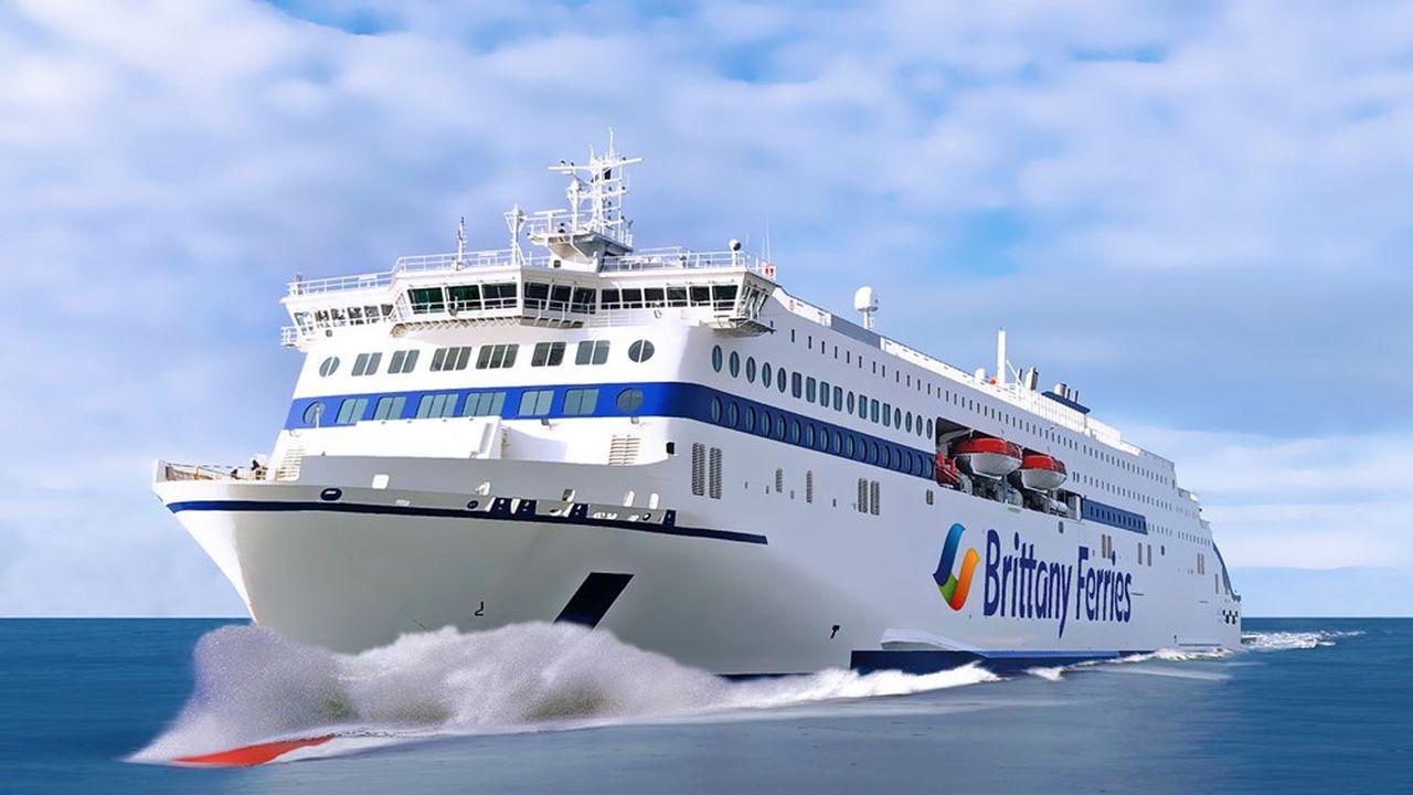 Les nouveaux ferries seront hybrides avec une propulsion au GNL et à l'électricité.