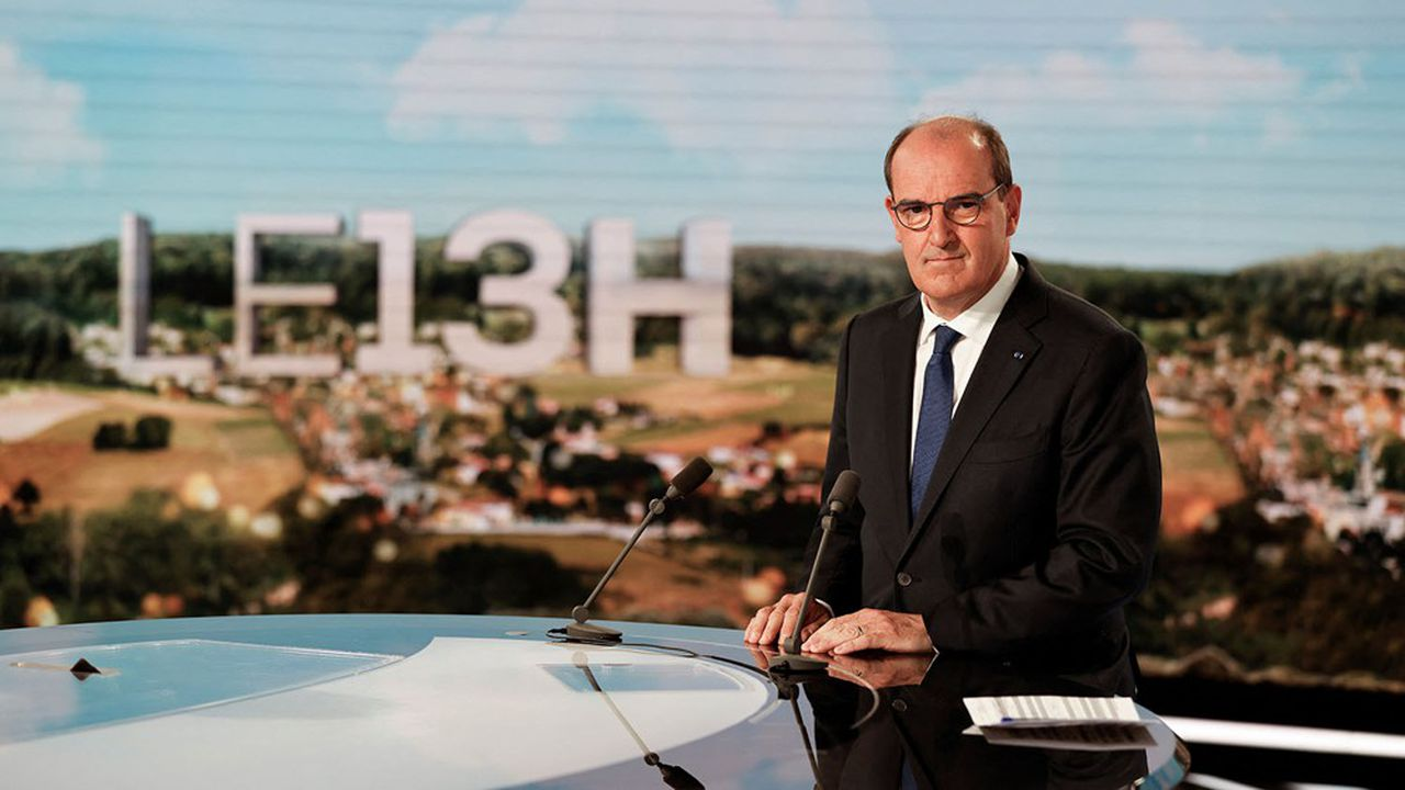Jean Castex sur le plateau de TF1 a assuré que 96% des 18.000 nouveaux cas de Covid enregistrés lundi n'étaient pas vaccinés.
