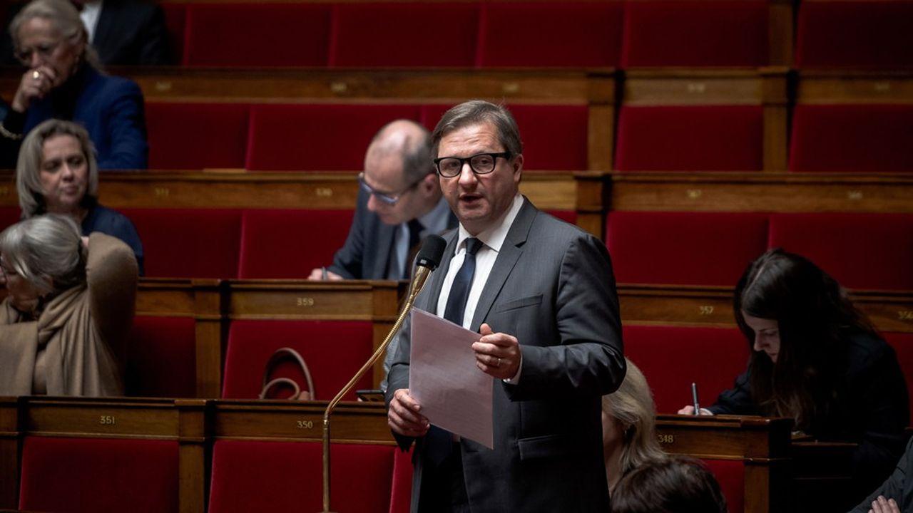 Sylvain Waserman, député Modem du Bas-Rhin et vice-président de l'Assemblée nationale.