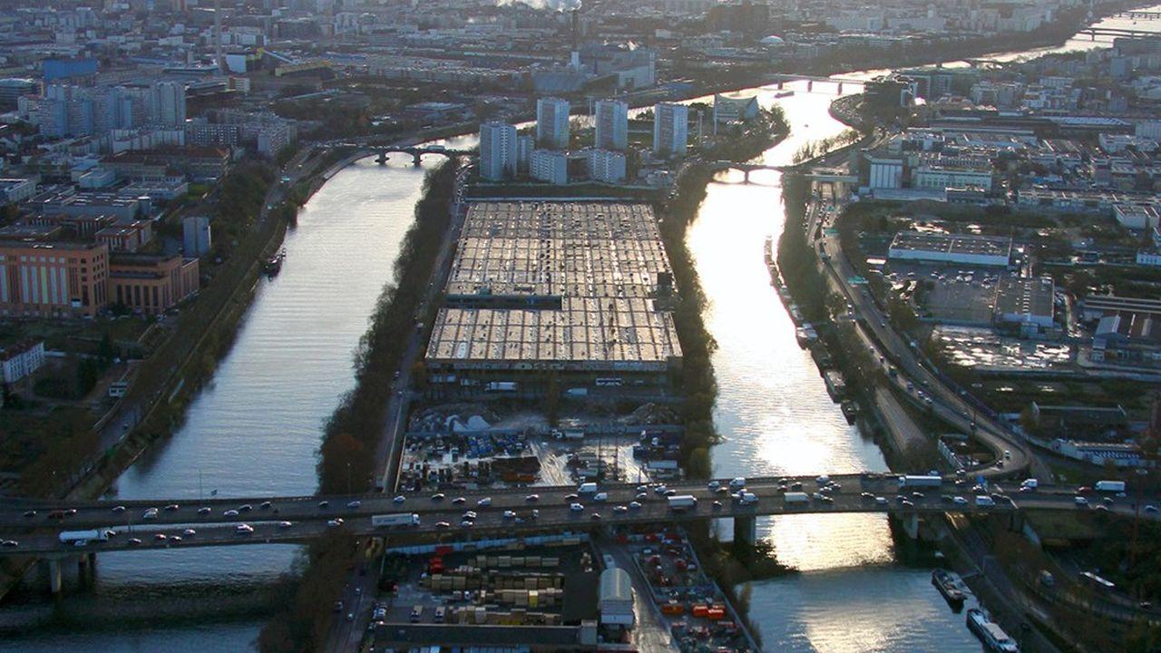 Les Jeux vont accélérer le désenclavement de l'ile Saint Denis.
