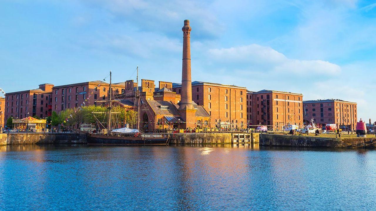 Le port de Liverpool figurait sur la liste du patrimoine en péril depuis 2012.