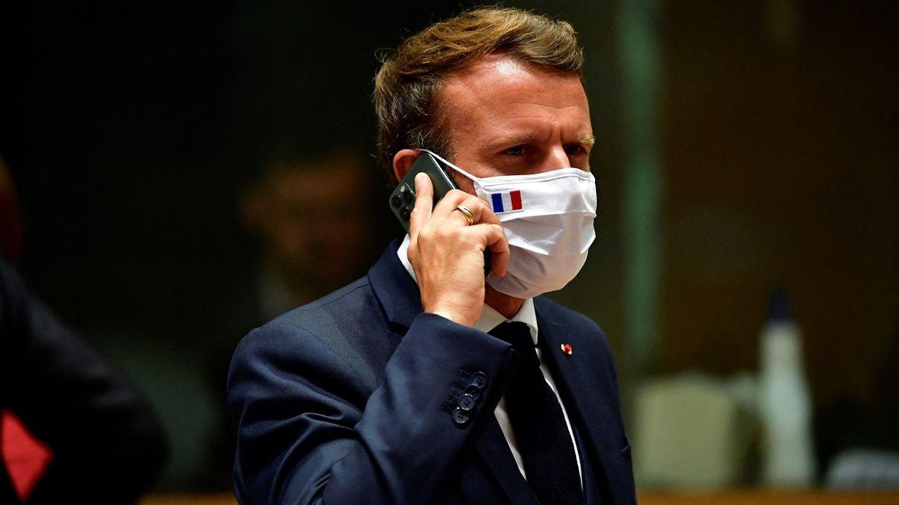 Un des portables d'Emmanuel Macron figure parmi les cibles potentielles du logiciel espion Pegasus.