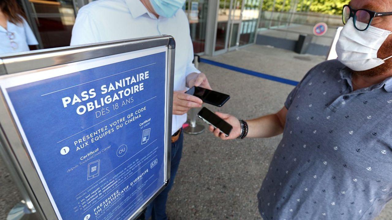 La présentation du pass sanitaire est obligatoire pour accéder aux cinémas depuis le 21juillet.