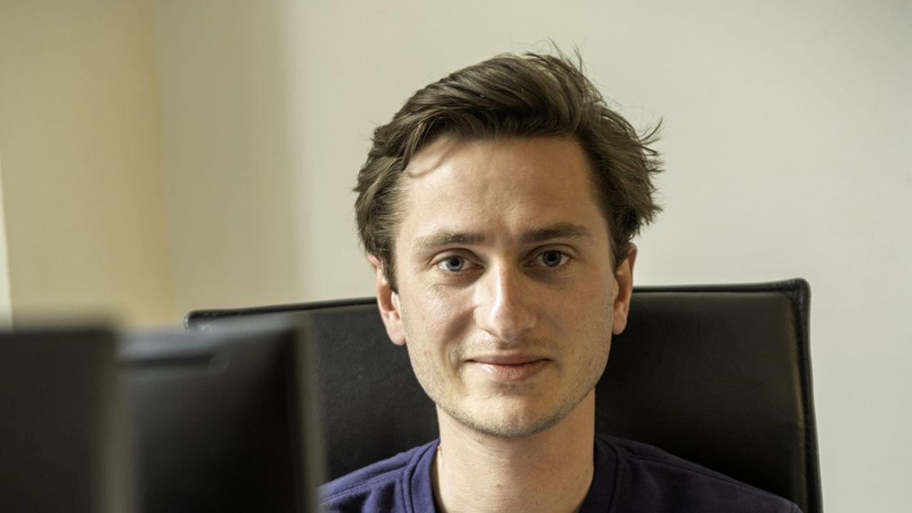 Victor Thion, 26 ans, a fondé Triliz, une start-up spécialisée dans l'informatique à destination des entreprises.