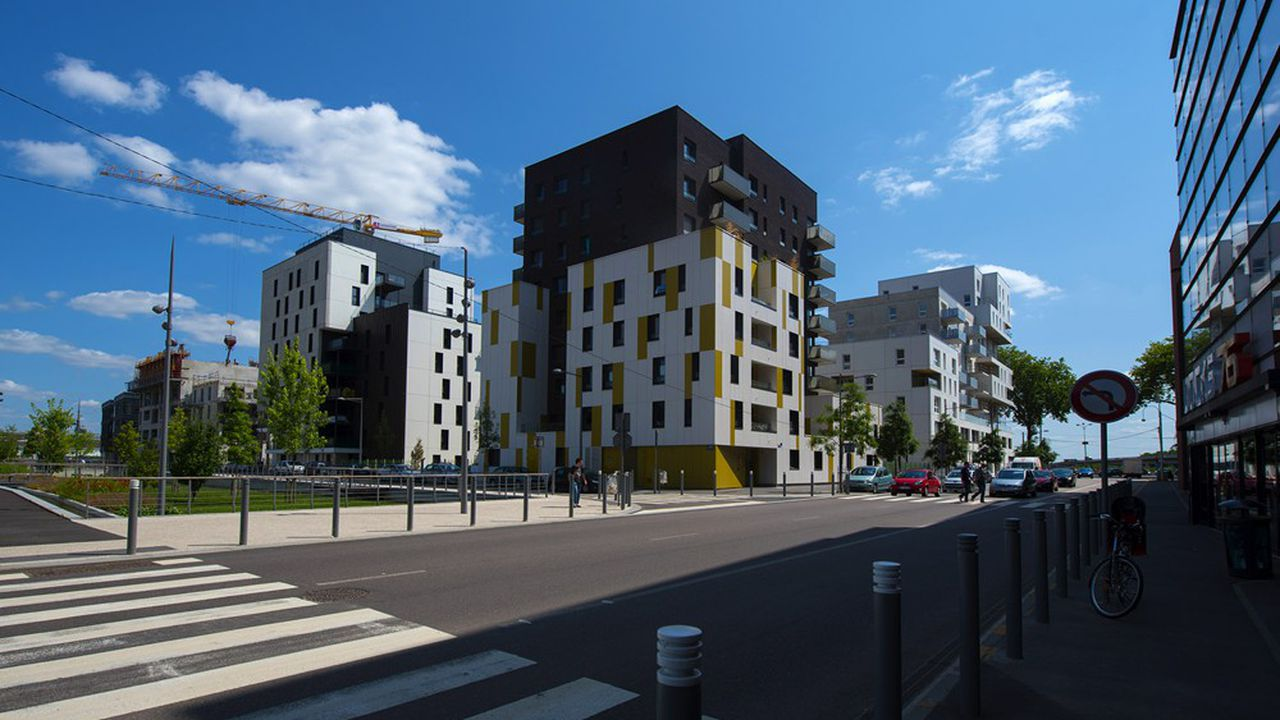 A Rouen, le projet d'écoquartier Luciline a trébuché avec les premières factures de fourniture d'énergie.