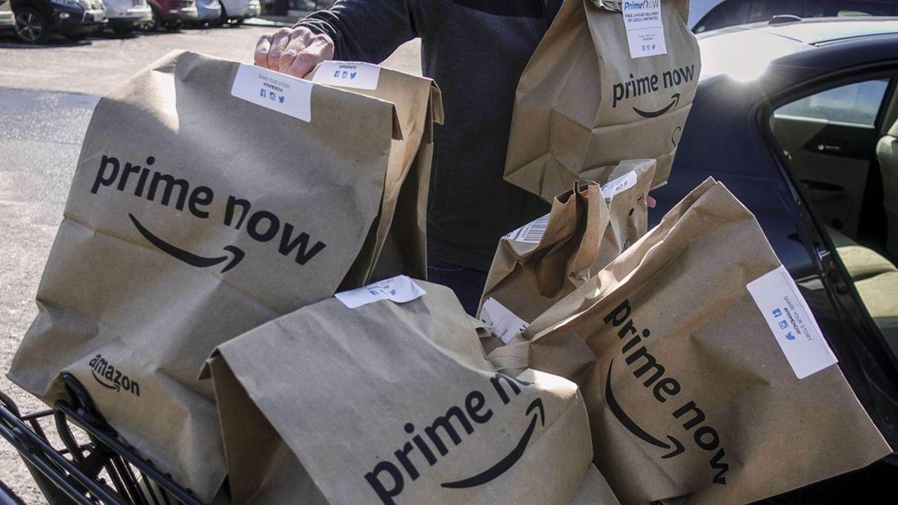 Le marché de la livraison d'épicerie, qui a bondi durant la pandémie, met aux prises plusieurs géants, dont Amazon, Walmart et Uber.