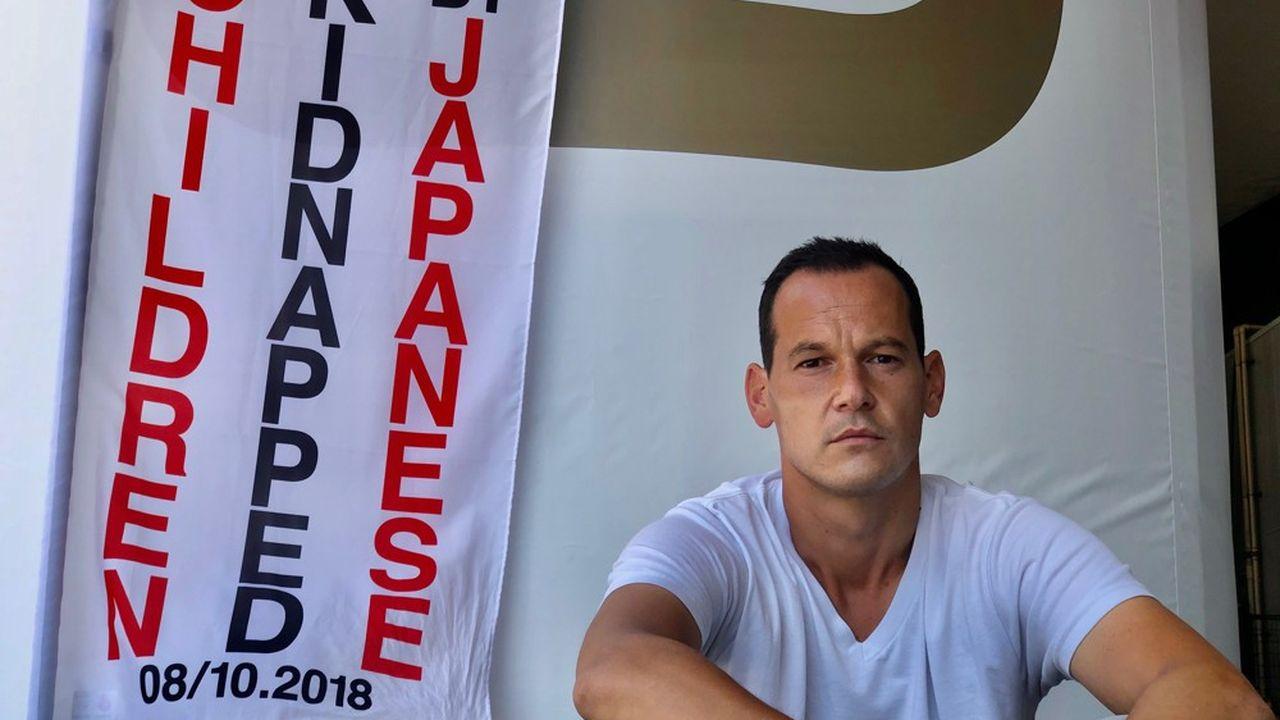 Vincent Fichot est en grève de la faim depuis le 10juillet.