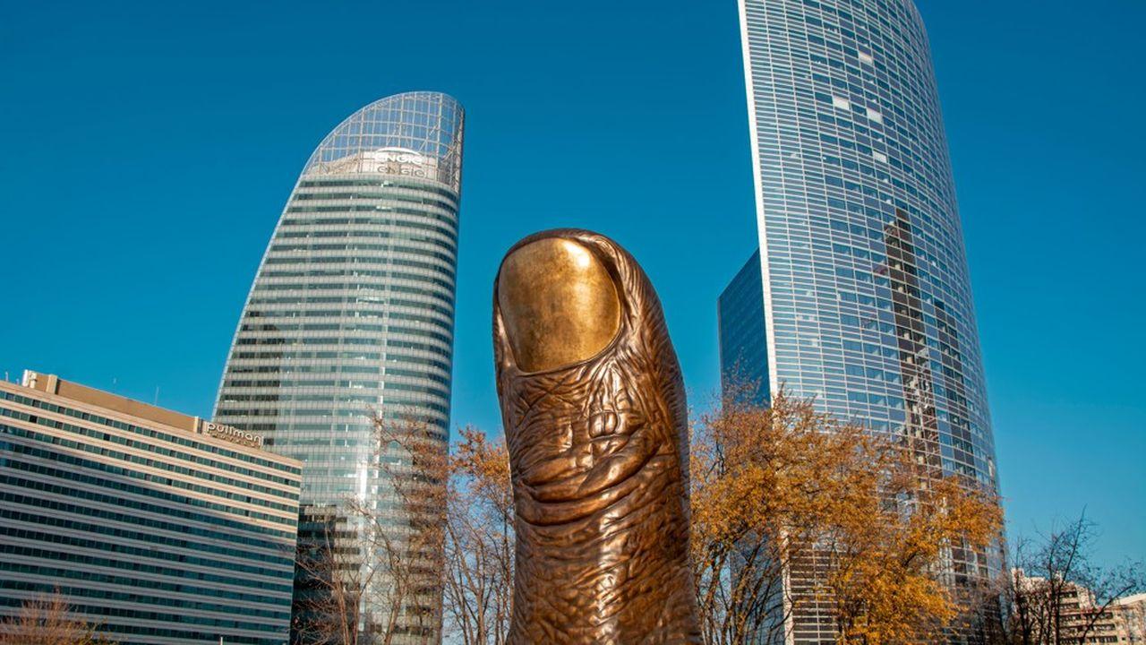La Défense compte 53 oeuvres d'art dans son espace public : fresques, fontaines, sculptures…