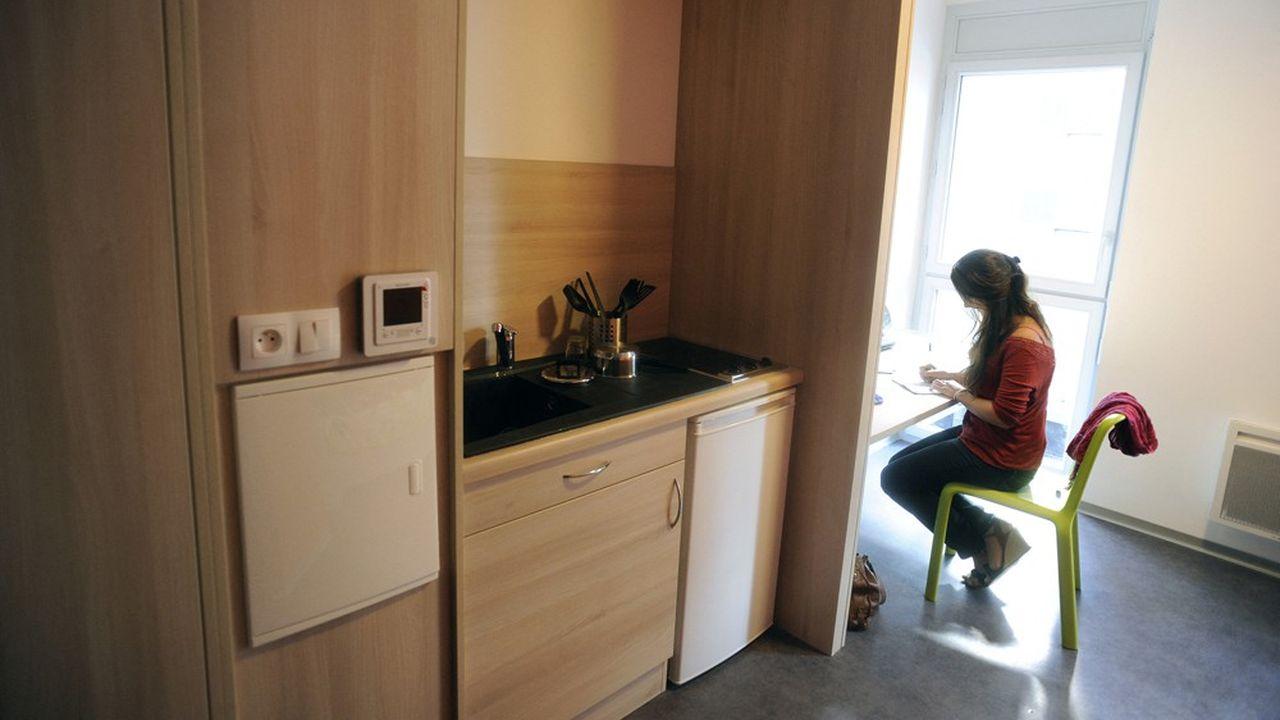 Le logement étudiant, un studio ou deux-pièces, est parfois difficile à dégoter.