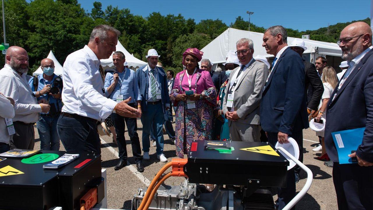 Sur le Pôle Mécanique d'Alès s'est déroulée la 12e édition des Rencontres internationales des Véhicules Ecologiques.