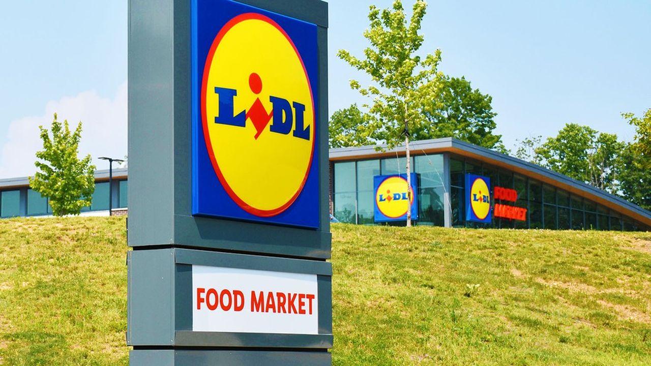 Entré sur le marché américain en 2017, le discounter allemand Lidl y compte désormais près de 100 filiales.