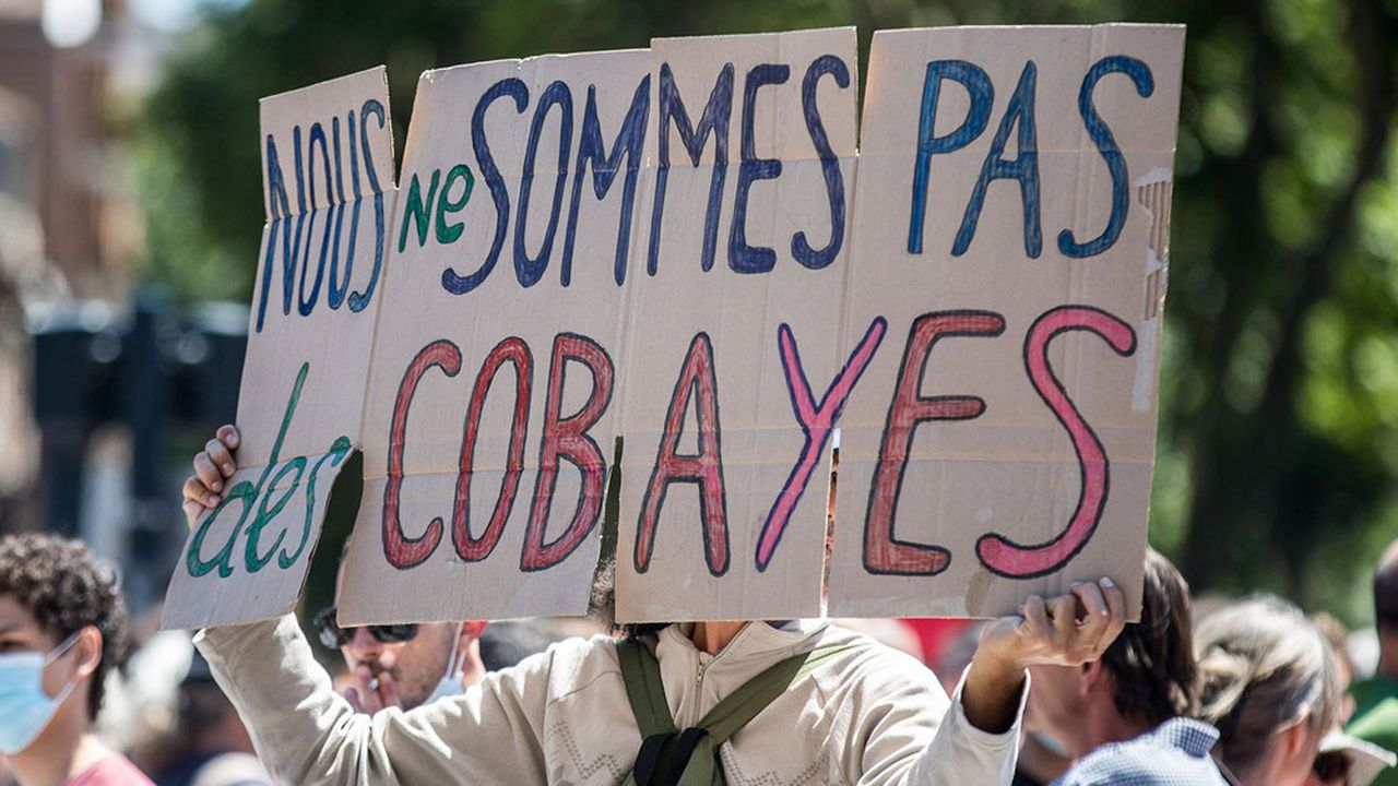 Covid : ces 16 % de Français qui ne veulent pas des vaccins