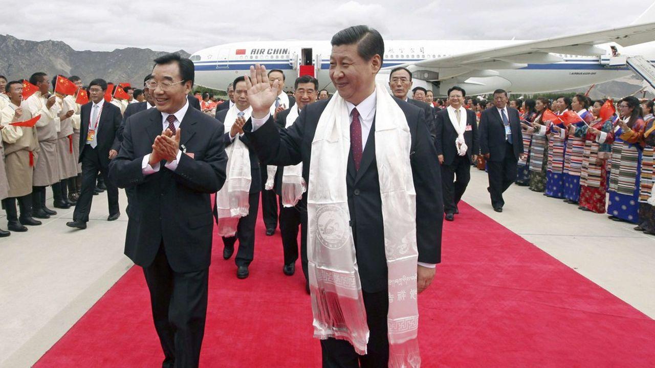 La visite de deux jours de Xi Jinping au Tibet, commencée mercredi, n'a été rapportée que ce vendredi.