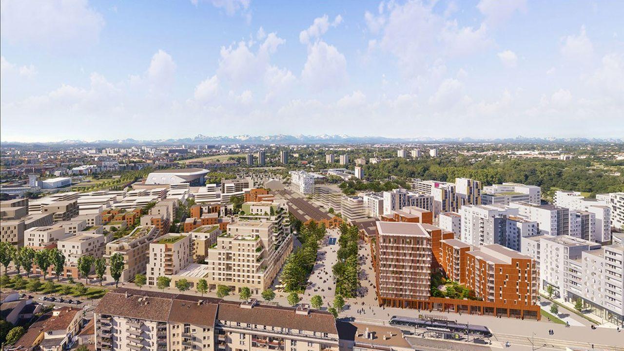 La Cartoucherie est le premier quartier toulousain à s'ouvrir à l'habitat participatif, l'un des plus grands de France.