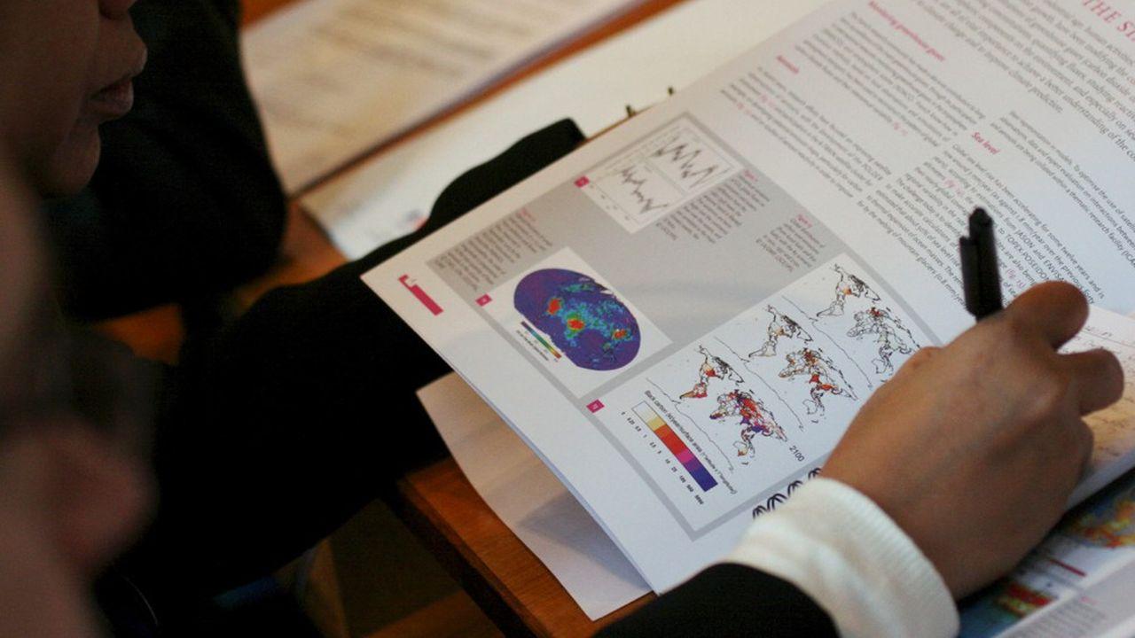La partie scientifique et le résumé du sixième rapport du GIEC sont soumis à l'approbation des 195 Etats à compter de ce lundi.