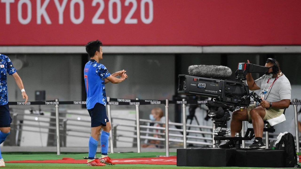 Pour la première fois, il est possible de visualiser sur son écran les performances des athlètes de certaines disciplines.