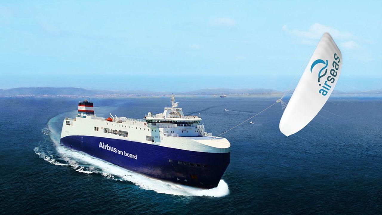 Airseas va produire ses ailes géantes pour cargo en Loire-Atlantique
