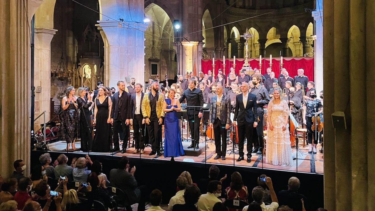 Jérémie Rhorer dirigeant « La Flûte enchantée » en version concert promettait le succès. Pari tenu.