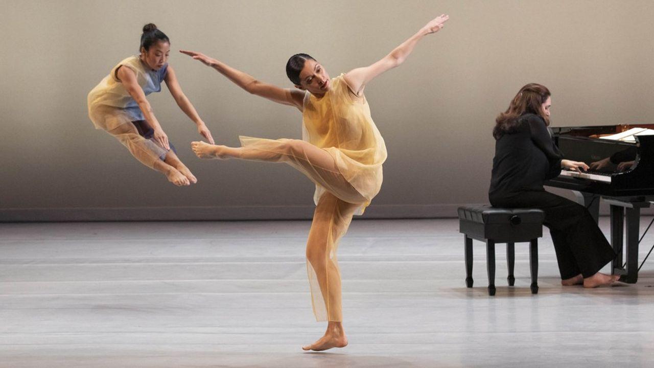 Pam Tanowitz, la révélation de Venise, avec la pianiste Simone Dinnerstein dans «New Work for Goldberg Variations».