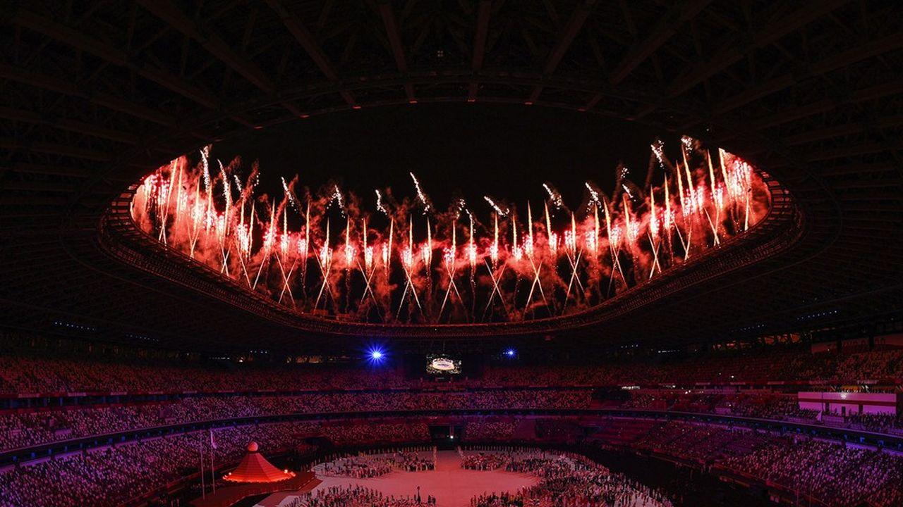 Quelque 70millions de Japonais étaient devant leur écran pour la cérémonie d'ouverture des Jeux de Tokyo.