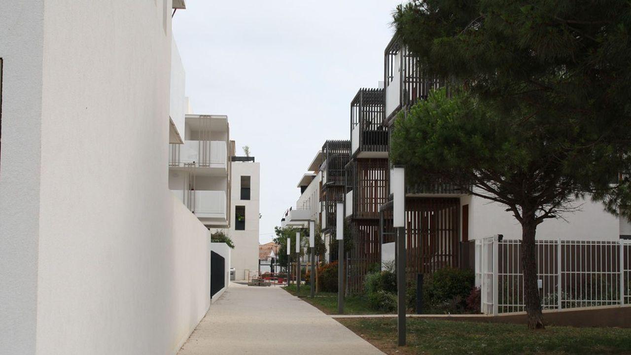 Pour l'écoquartier les Pielles de Frontignan, l'urbaniste et architecte Pierre Tourre a travaillé à une stratégie climatique, prenant en compte vents, course du soleil et terrain…