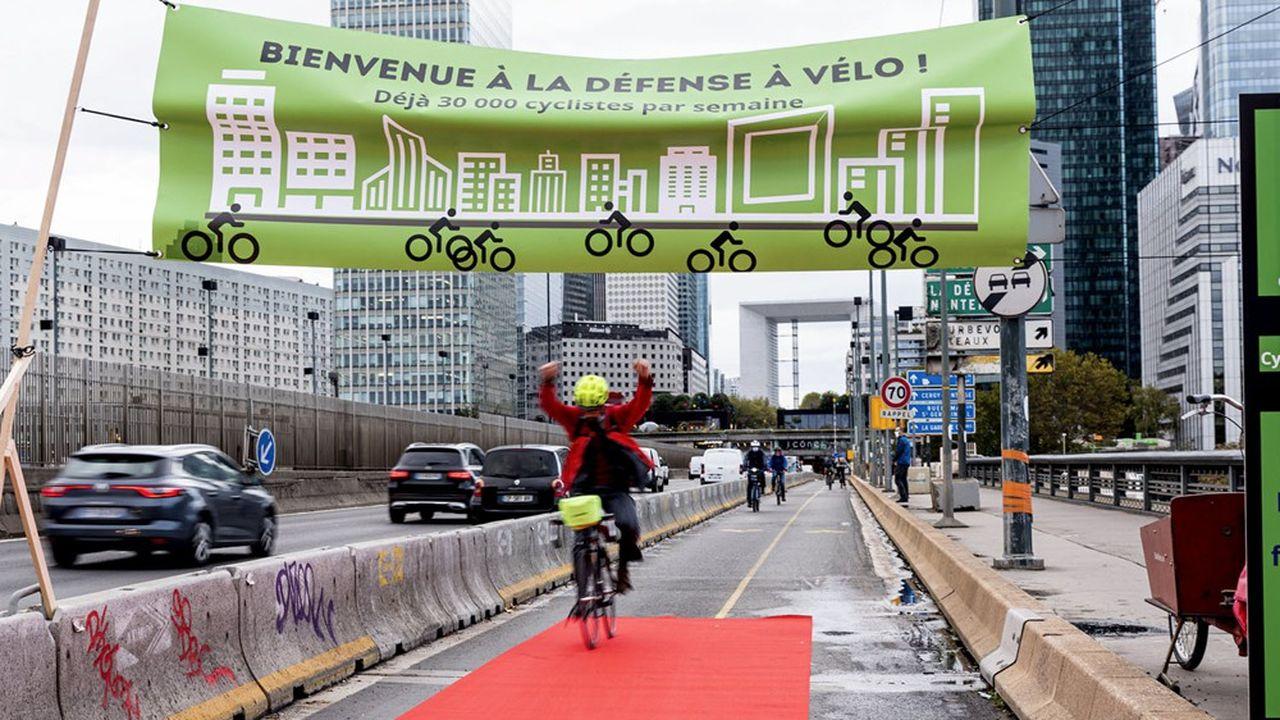2020, l'année de la conversion au vélo pour le quartier de la Défense