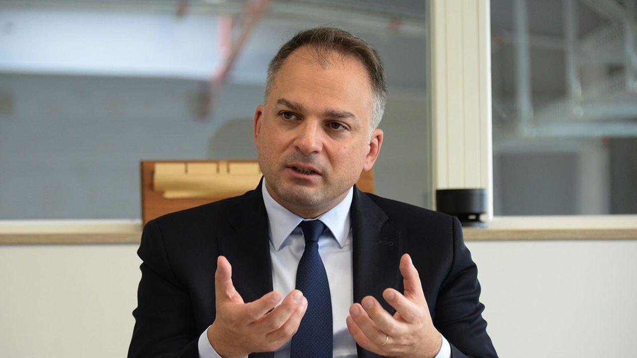 Elie Girard, le directeur général d'Atos, entend reprendre la main après une année compliquée