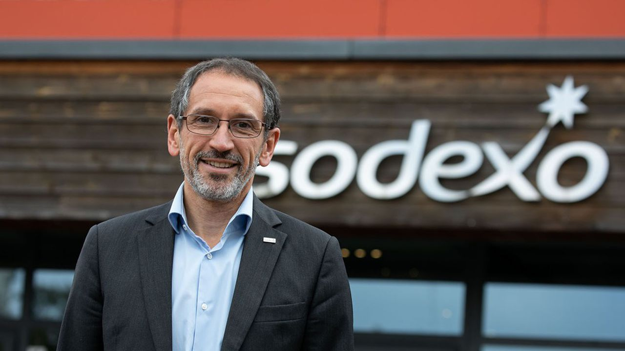 Denis Machuel, un patron très engagé et issu du sérail comme son prédécesseur, qui quittera Sodexo fin septembre.